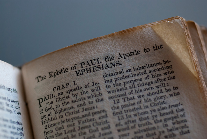 Pocket New Testament from 1832.