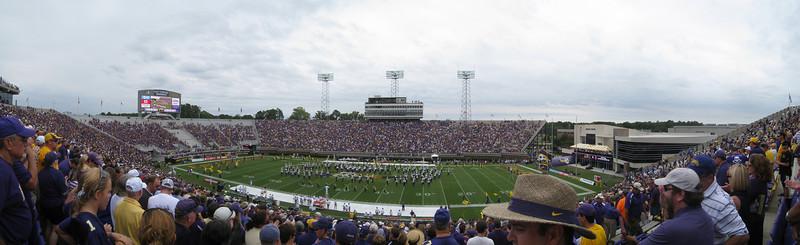 9/11/2010 - ECU vs. Memphis - panoramic of ECU's football stadium