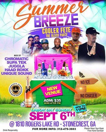 SUMMER BREEZE COOLER FETE & BLOCK PARTY
