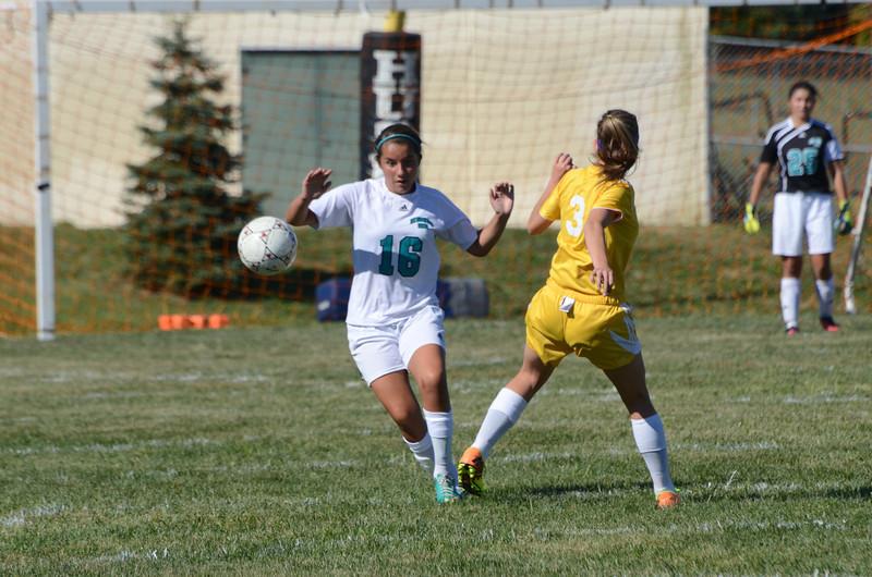 Girls JV Soccer September 6 vs Perry Hall