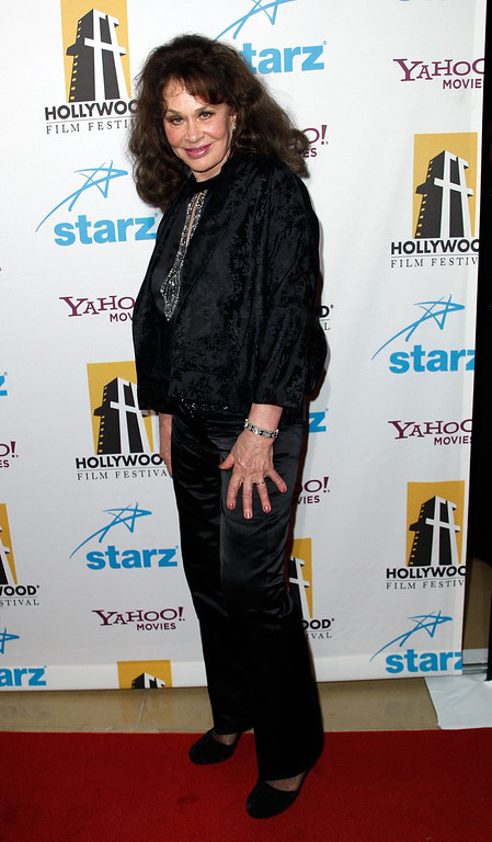 . LOS ANGELES, CA - OCTOBER 22:  Actress Karen Black arrives at the 11th Annual Hollywood Awards held at the Beverly Hilton Hotel on October 22, 2007 in Los Angeles, California.  (Photo by Michael Buckner/Getty Images)