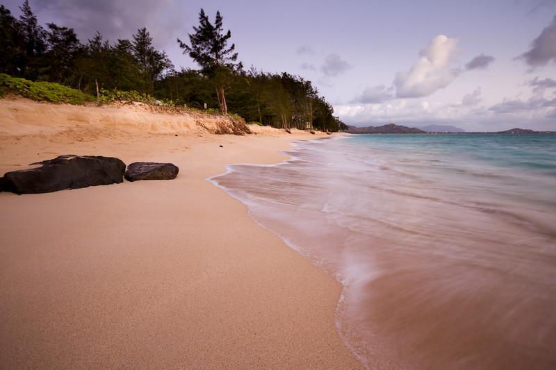 Kailua Beach Pre Dawn Light