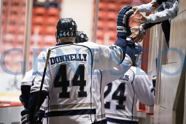 Ice Hockey vs. Wisconsin Stevens Point (NCAA Tournament Semifinal Game @ Lake Placid)