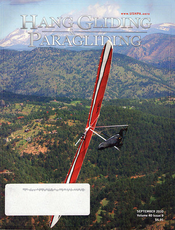 Hang Gliding & Paragliding Magazine Cover