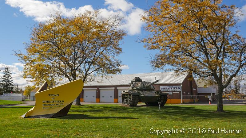 Wheatfield Hwy Dept - Wheatfield, NY - M60A3