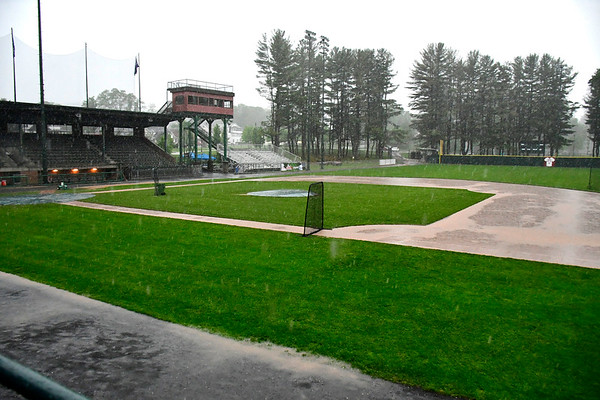5/29/2019 Mike Orazzi | Staff The Bristol Blues got canceled because of rain in Bristol Wednesday night.
