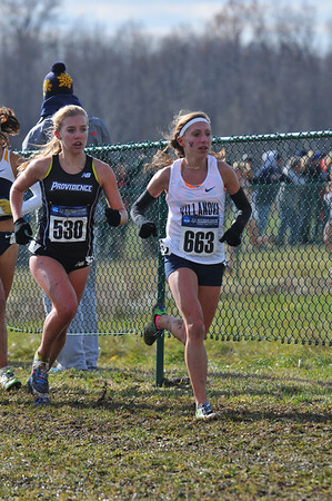 Women at 3 Miles - 2013 NCAA D1 XC Championships