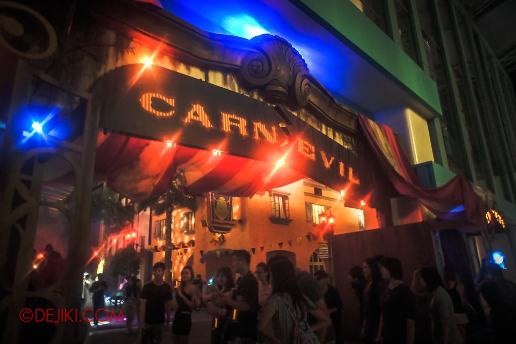Halloween Horror Nights 2011 Singapore CARN-EVIL scare zone