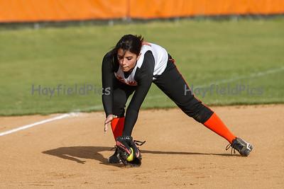 Softball JV Yorktown 4/18/13