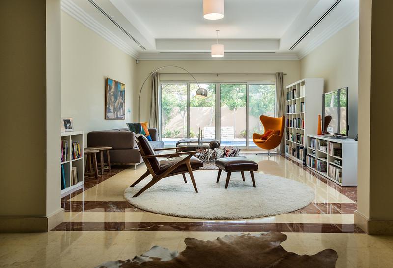 Private home interior for Real Estate company, Dubai.