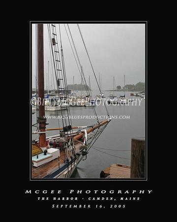 Camden Harbor - 16 Sep 05
