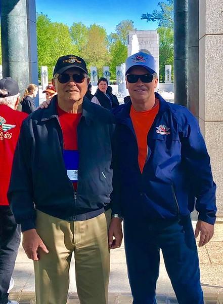 Korean,  Lincoln, Vietnam Memorials April 2019