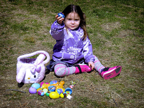 Easter Egg Hunt in Central Park