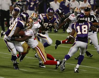 MN Vikings vs San Francisco 49ers (Sept 27, 2009)