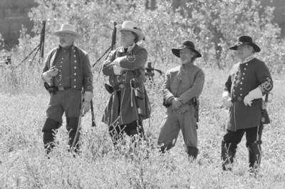 Civil War reenactment, Vista Ca March 2012