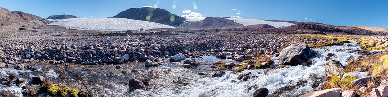 Stream Waters below Twin Glacier Alexandra Fiord
