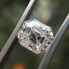 2.39ct Antique Asscher/Square Emerald Cut Diamond, GIA D/IF 37