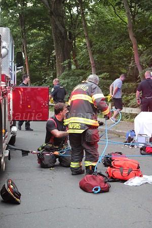 Technical Rescue - Black Rock Tpk & Samp Mortar Dr. Fairfield, CT - 8/18/2021
