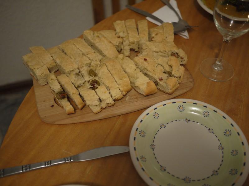 Mallory's homemade bread
