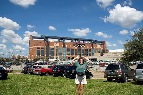 """Lucas Oil Stadium - home of the """"Super Bowl Champion"""" Indianapolis Colts"""