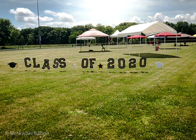 Meskwaki High School Graduation Ceremony 2020