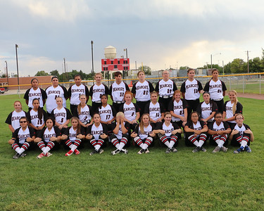 Scottsbluff softball team and individuals