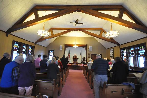 Last Service at North Egremont Baptist Church-012515