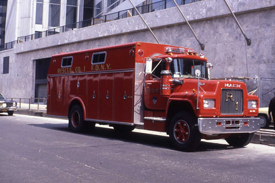 FDNY Rescues and Squads