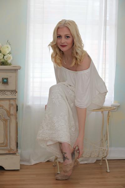 Kat prepares for her wedding