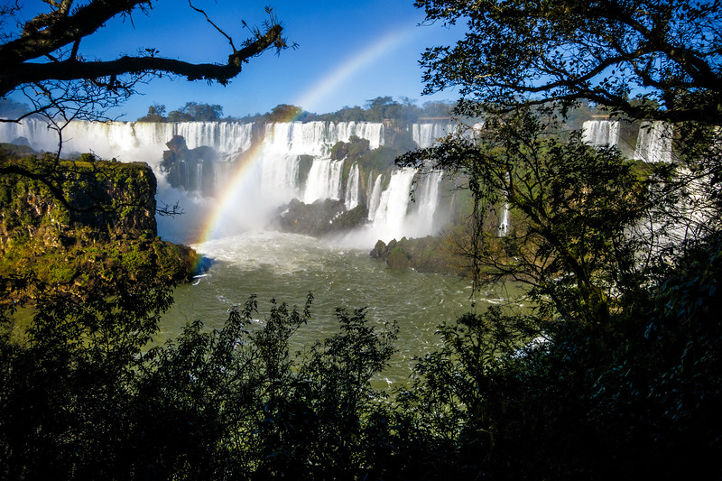 Iguazu Falls captured at the Argentinian side.
