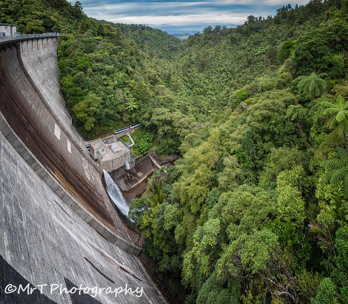 Upper Nihotupu Dam Waitakere
