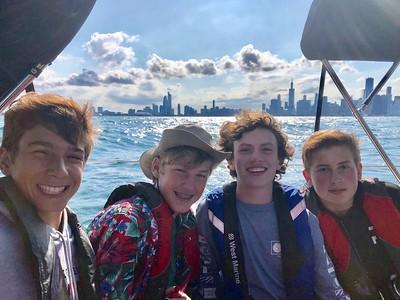 Boat Birthday Party July 2019