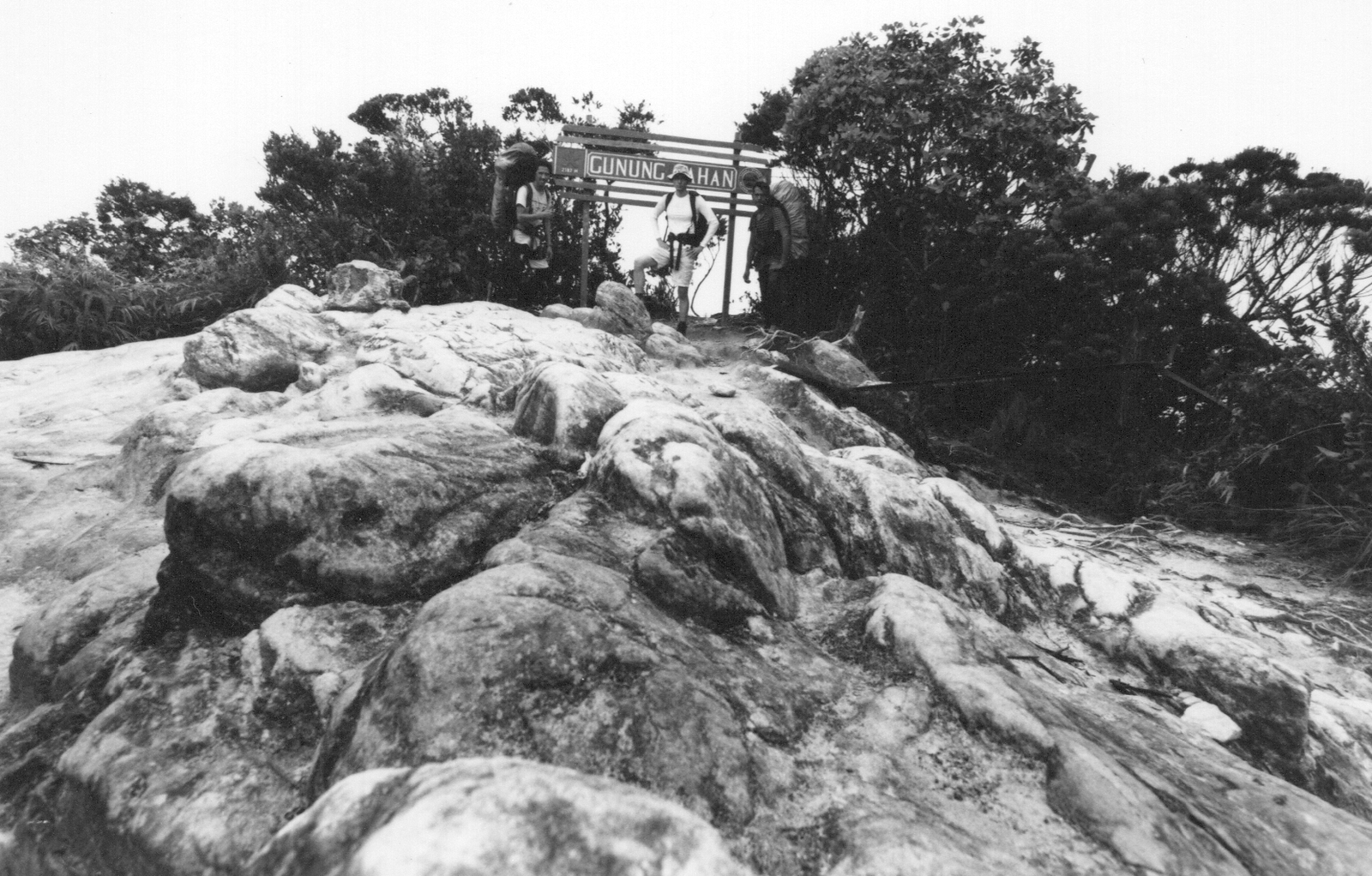 Lin Yangchen on the summit of Gunung Tahan