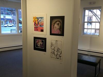 Saratoga Arts all stars exhibit