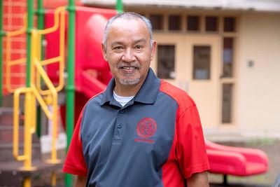 Joe Rios, Custodian at Roosevelt Elementary