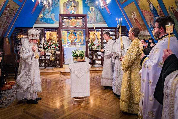 Vigil for the Feast of the Transfiguration 2018