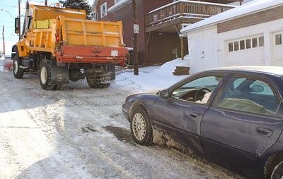 Snow Photos, Morning, Tamaqua (1-21-2011)