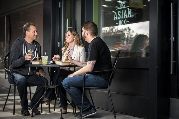 Asian Box - Customer Candids