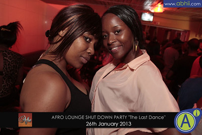 Afro Lounge - 26th January 2013