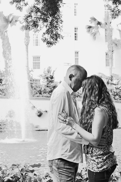opryland hotel engagement session