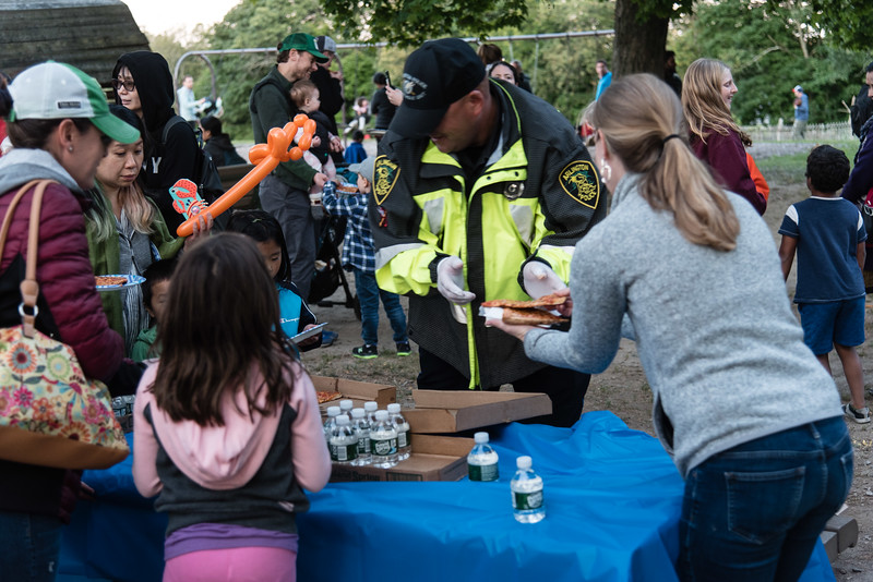 Pizza with Police at the Park 2019_ERF4506