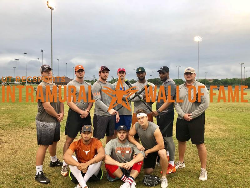 Spring 2018 Softball Men's B Runner Up Brokebat Mountain