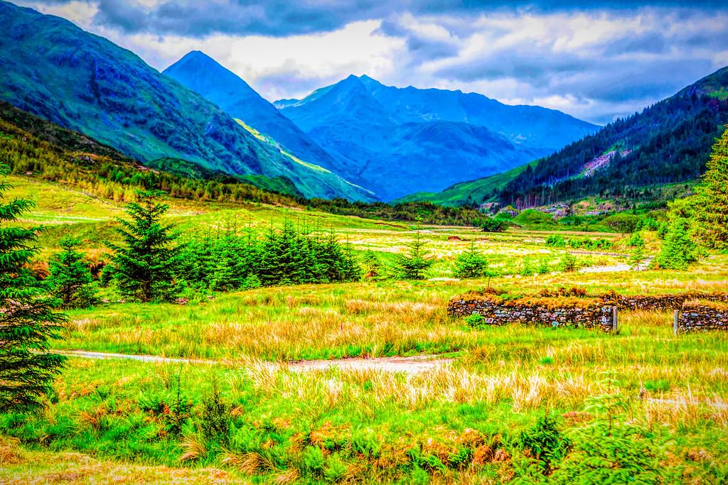 苏格兰美景,景色如画