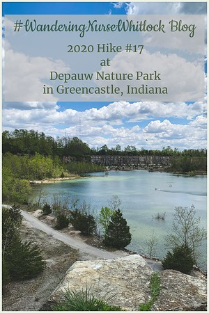 2020 Hike #17 on May 7th at Depauw Nature Park in Greencastle Indiana