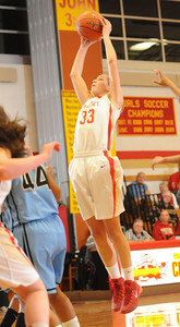 Johnstown v. Bishop McCort girls hoops  1.9.14