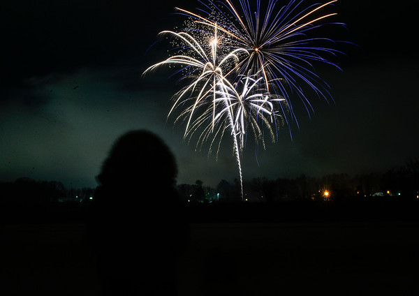 Fireworks over the Retreat Meadows - 123119