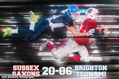 Sussex Saxons 20-6 Brighton Tsunami (£2 Single Downloads. £8 Gallery Download. Prints from £3.50)