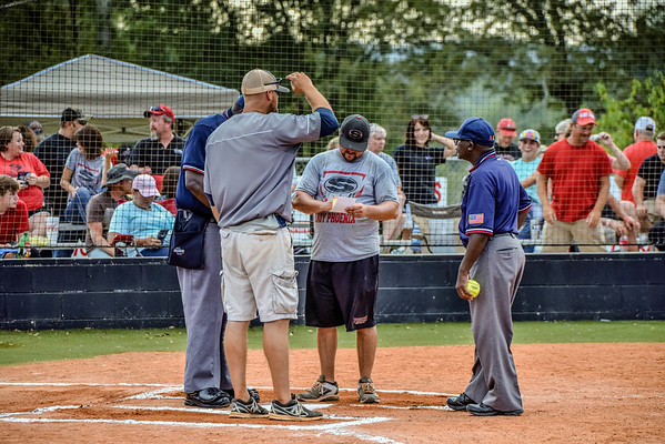 Region Tourney Gm 2 Creek Softball vs Sonoraville 9-27-16