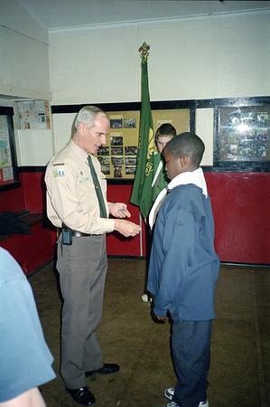 Scout Enrolments 2002