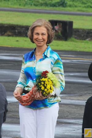 Her Majesty Queen Sofia | Visit in Legazpi, Albay